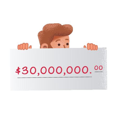 vinnare på Mini Lotto