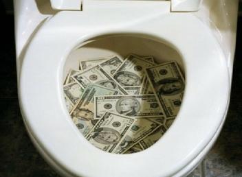 Jackpottpengarna bara försvann