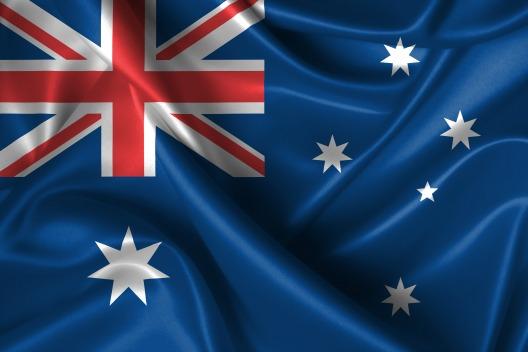 australiska flaggan