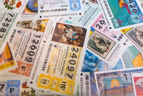 spanish raffle tickets