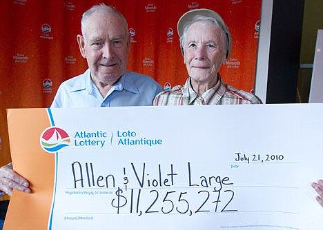 Violet och Allen Large