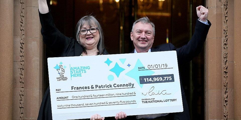 Frances och Patrick Conolly